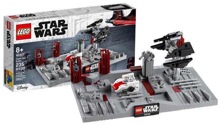 Lego Star Wars Day Deals + gratis item (Slag om de Death Star II 40407) vanaf €75 @Lego