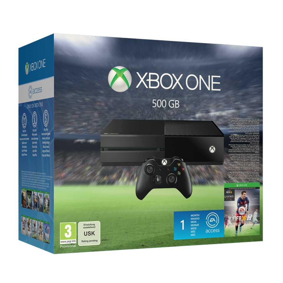 18% korting op de Xbox One + FIFA 16 bundel + extra controller gratis voor €329 @ Intertoys