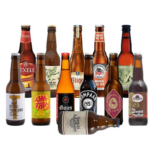 15% korting op alle pakketten van bierfamilie.nl