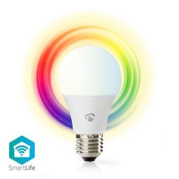 Nedis Full-Colour & Warm White LED E27 Wi-Fi Smart Lamp @ 50Five
