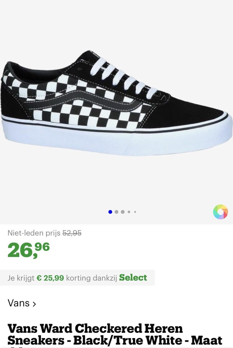 [select korting bol.com] heren vans €26,96