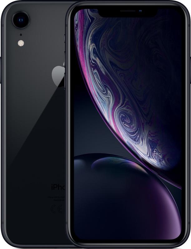 iPhone XR 6,1 inch zwart 64GB €579 / 128GB €619 bij Groupon
