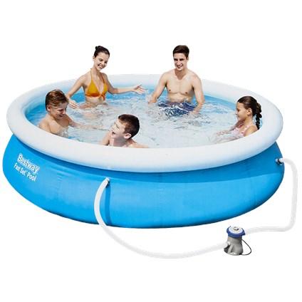 Action: Bestway Fast Set zwembad inclusief filterpomp