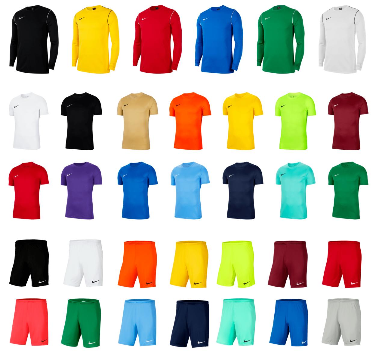 Nike Park Set (1x shirt, t-shirt en short) voor €37,95 - mix&match