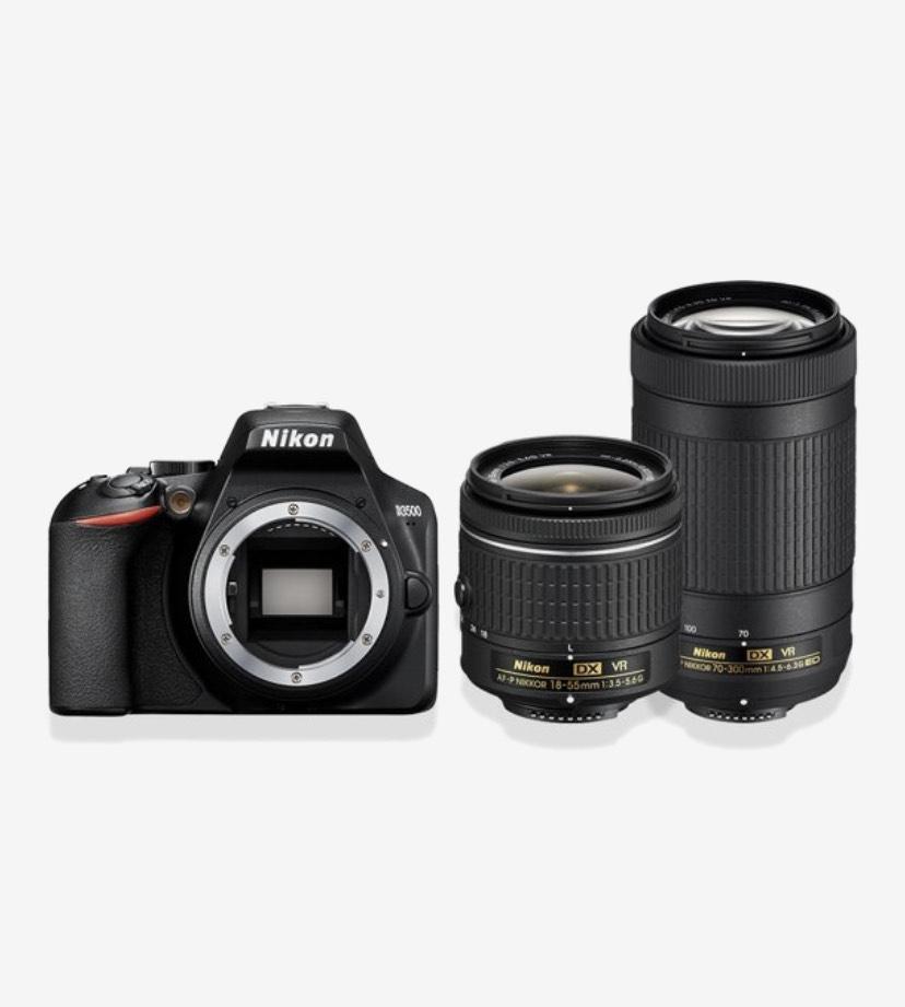Nikon D3500 + 18-55mm + 70-300mm [select]