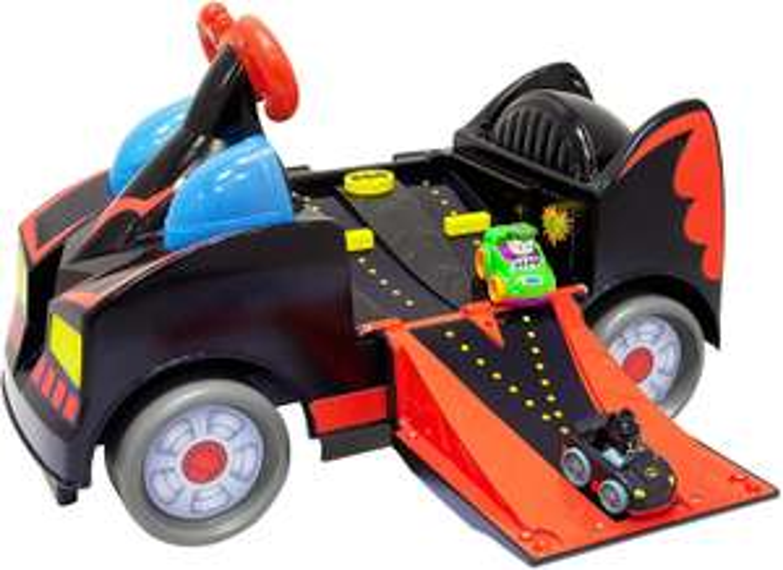 Fisher price Batman ride on met 2 kleine autootjes (Joker en Batman)