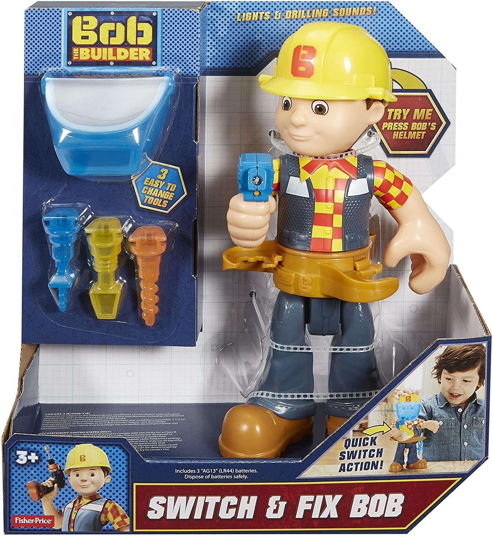 Fisher price Bob de Bouwer met geluid en licht