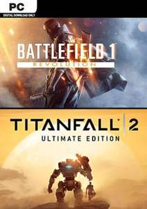 Battlefield 1 Revolution plus Titanfall 2 Ultimate Edition (PC) @Amazon.com