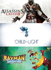 [Uplay/PC] Claim gratis Assassin's Creed 2, Child of Light en Rayman Legends vanaf 1 mei