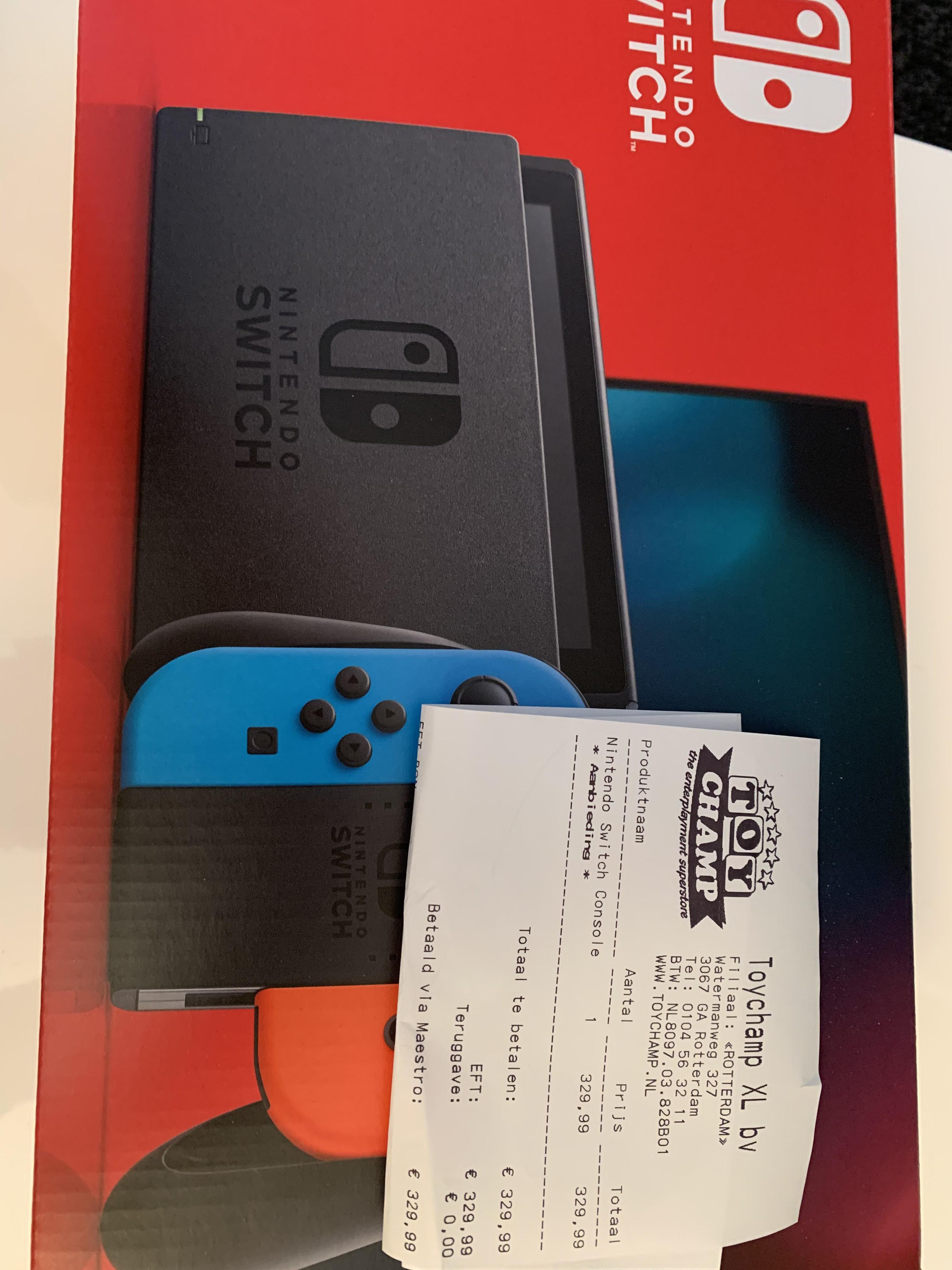 Nintendo Switch verbeterd model Toychamp winkels en online