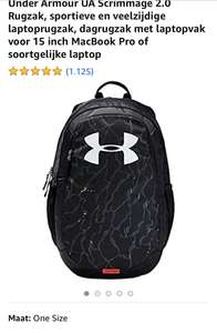 Under Armour Scrimmage 2.0 rugzak (25 l)