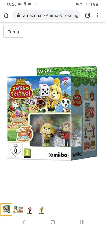 Animal Crossing: Amiibo Festival + 2 Figuren + 3 Cards, Wii U (Nintendo Wii U)