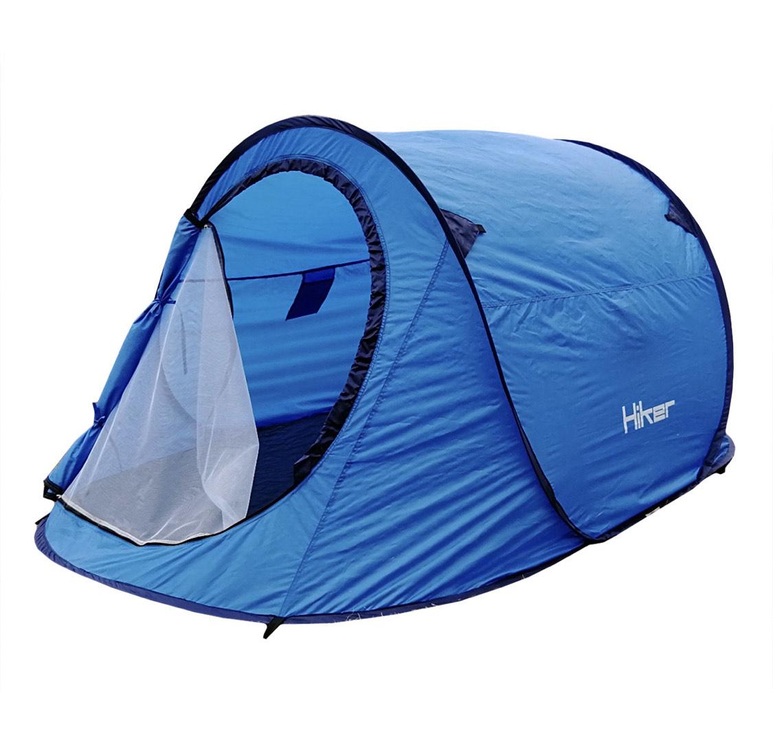 2persoons pop-up tent van Hiker