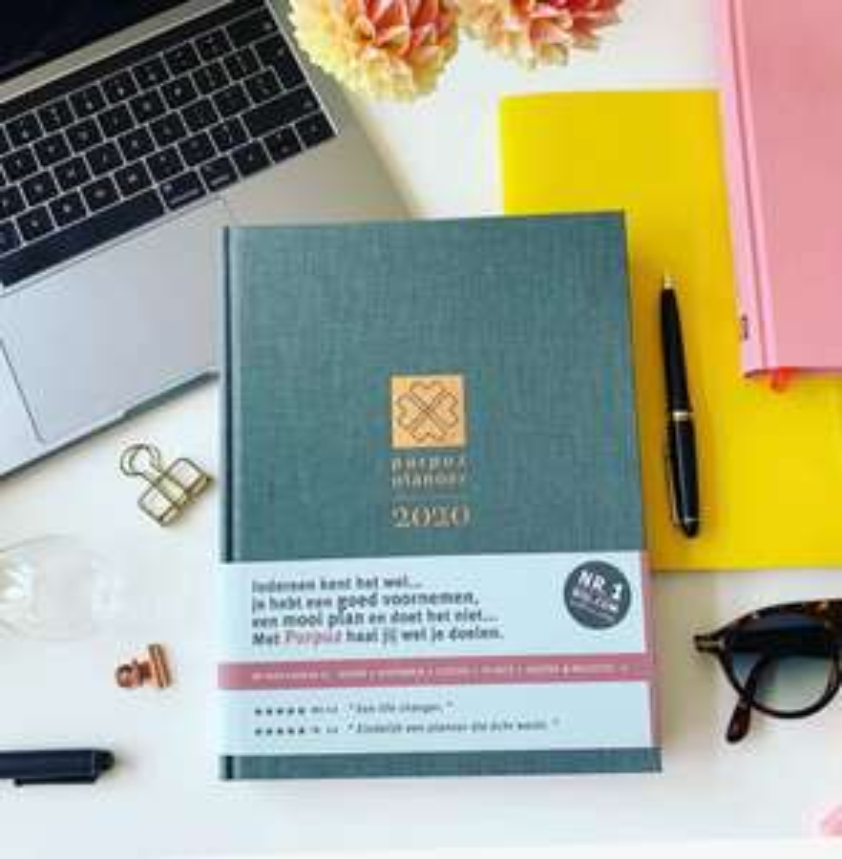 Purpuz planner 2020 met 77% korting