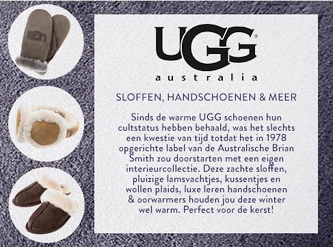 UGG accessoires vanaf €49 @ Westwing
