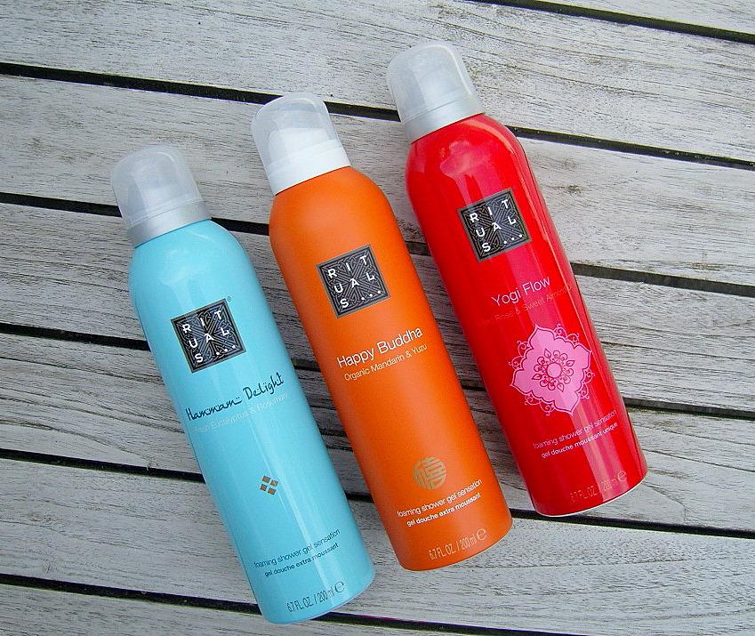 Gratis Rituals shower foam voucher (bij eerstvolgende aankoop) + shower oil!