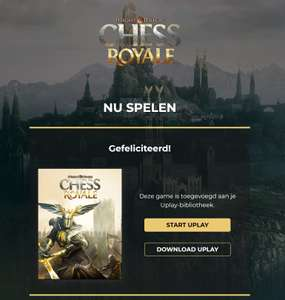 Weggeefactie: Might & Magic: Chess Royale PC gratis @ Uplay
