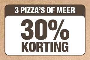 Domino's kortings-10daagse. 10, 20 of 30% korting