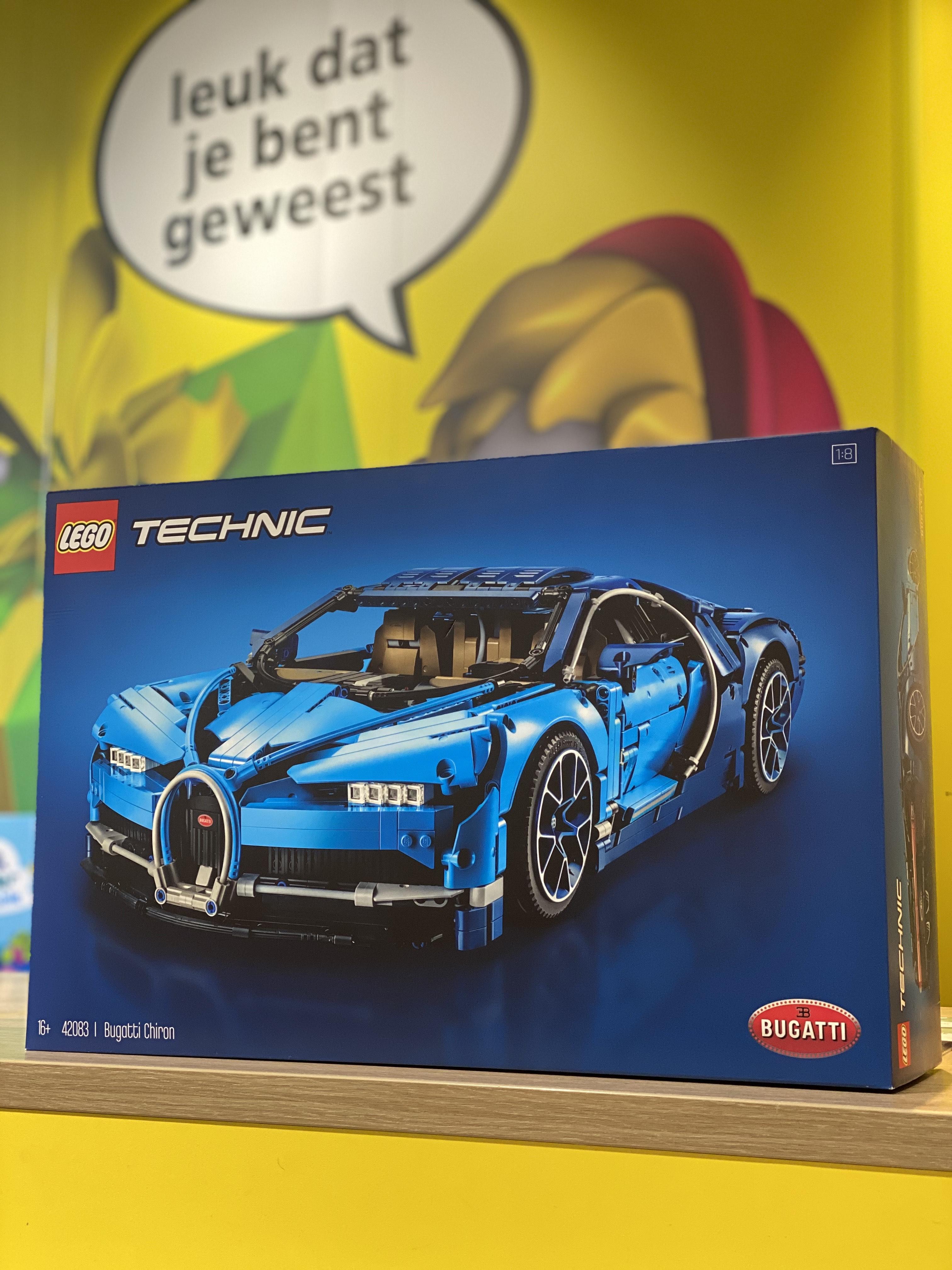 (Lokaal) Lego Bugatti