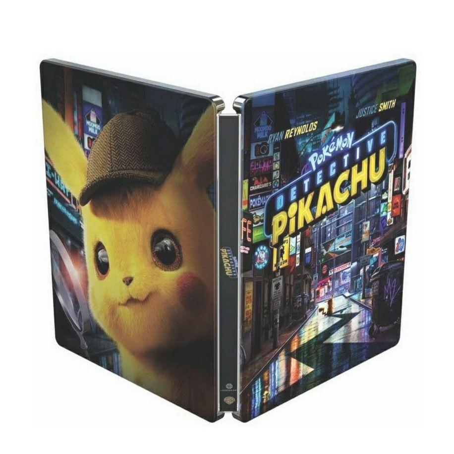 Detective Pikachu - 4k Blu-Ray [STEELBOOK]