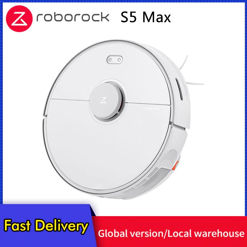 Roborock S5 Max robotstofzuiger/dweiler 2020versie (verzending uit EU)