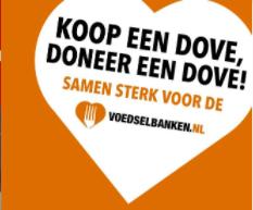 Koop een Dove, doneer een Dove @Deen