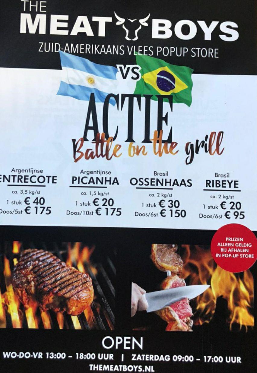 Vlees pop-up store met goed(kope) vlees @ Oud-Beijerland