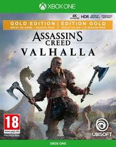 Assassins Creed: Valhalla Gold Edition voor Xbox One
