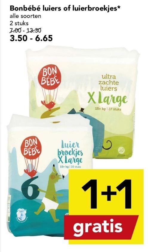 Deen - Bonbébé Luiers - 1+1 gratis
