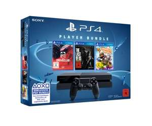 PS4 console (500GB) met DriveClub, Little Big Planet 3 en The Last of Us: Remastered voor €325,- @ Amazon.de