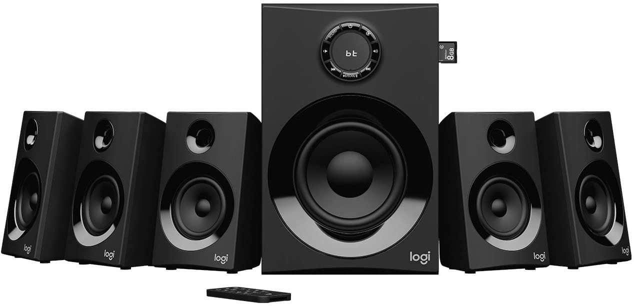 Logitech Z607 5.1 Surround Sound met Bluetooth @ Amazon.nl