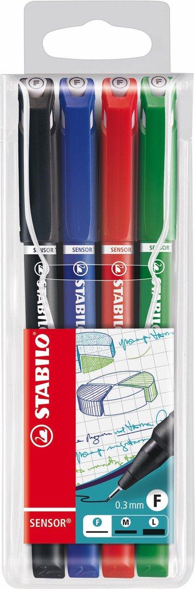 Stabilo fineliners 0,3mm voor €0,09 @ Bol.com