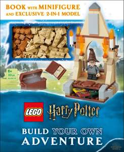 LEGO Harry Potter Build Your Own Adventure Boek met Minifigure en 2-in-1 model @ Amazon.nl