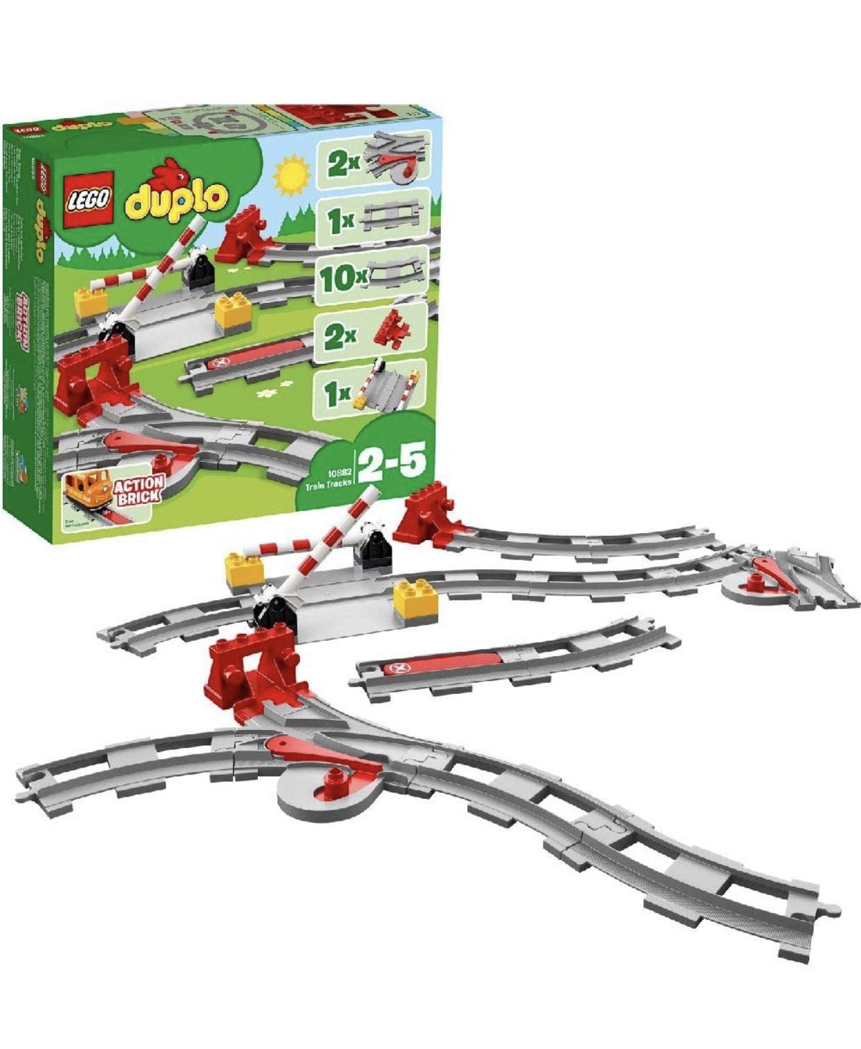 Lego Duplo Treinrails - 10882 (uitbreidingset)