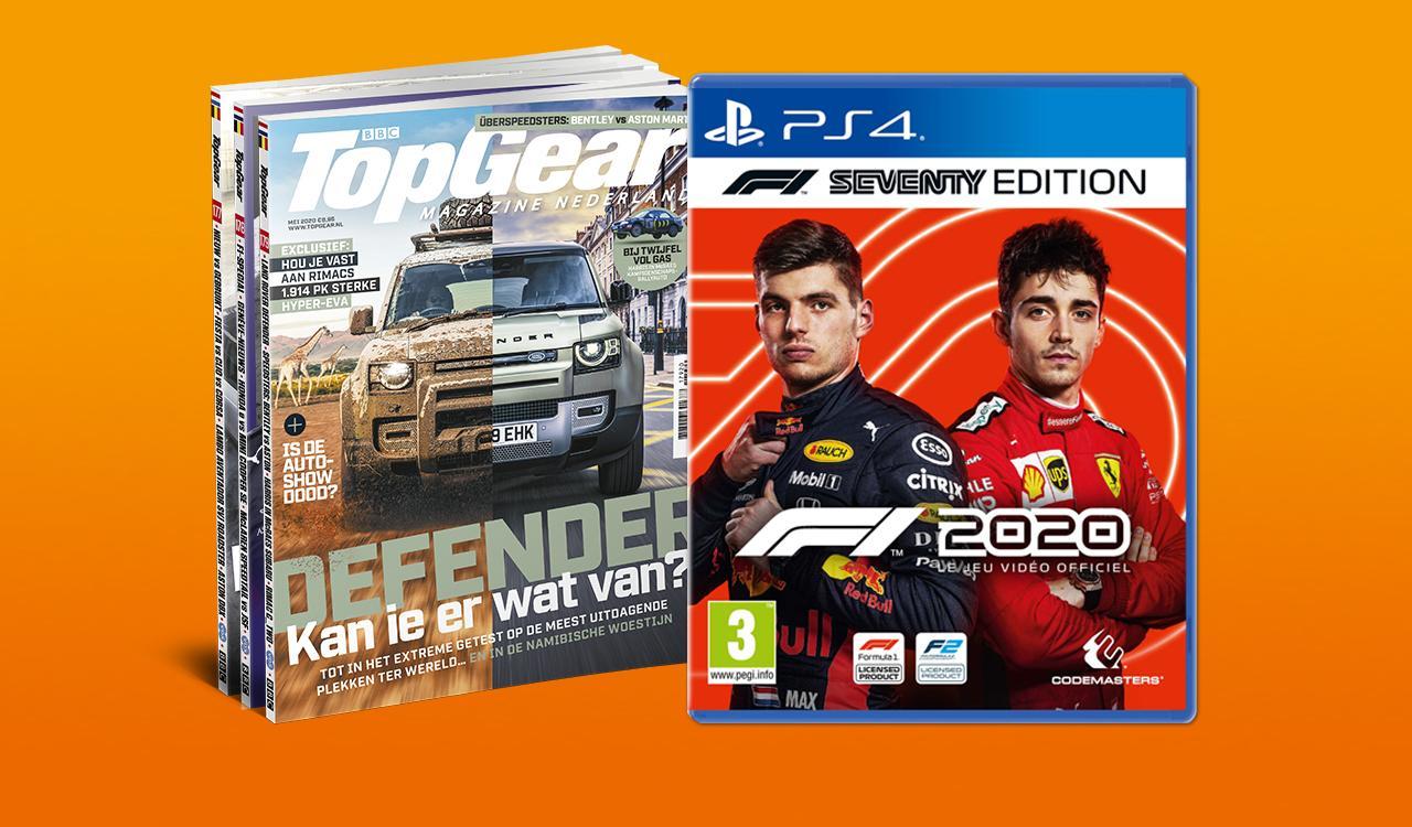 Alleen 5 mei: F12020 pre-order + TopGear Magazine voor €75 (PS4, XBOX & PC)