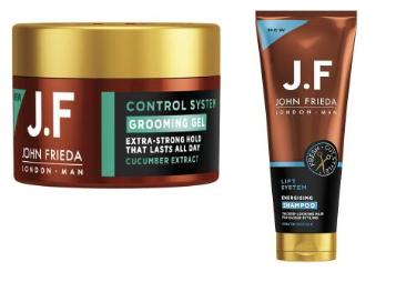 John Frieda Man Shampoo of Gel (€ 3,50 per stuk)