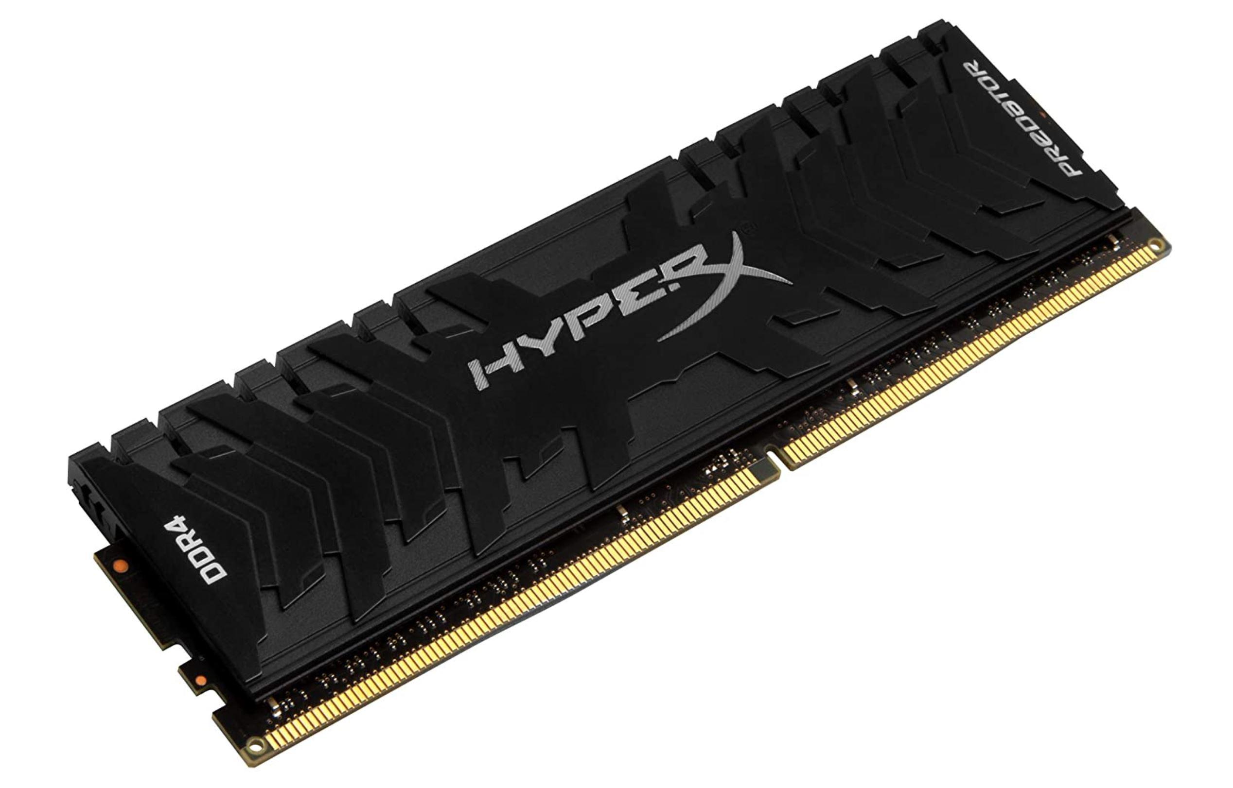 HyperX Predator   DDR4   3333 MHz.   16GB   CL16   Zwart