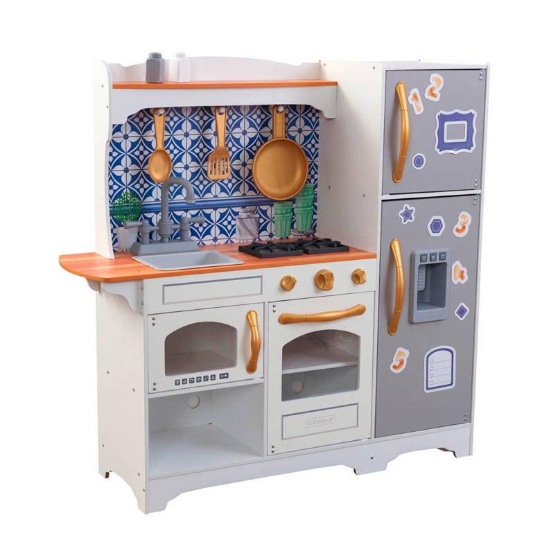 Kidcraft Mosaic Magnetic houten kinderkeuken