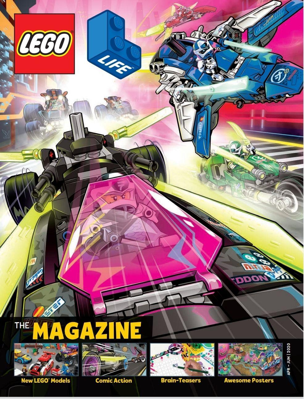 Gratis 4x per jaar het Lego magazine