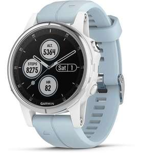 Garmin Fenix 5s plus 42mm blauw/wit