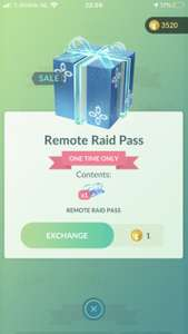 Pokemon Go! Remote pasje voor 1 coin