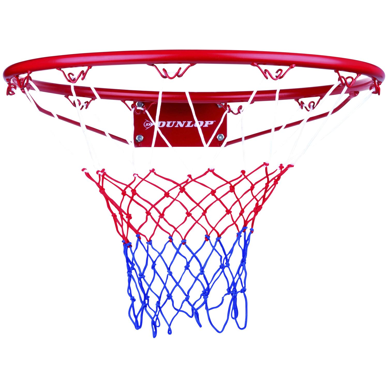 Dunlop basketbalring inclusief net (Ø 45 cm)