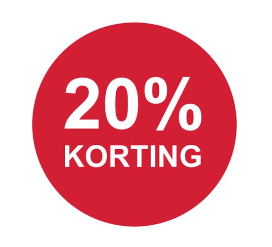 Altijd 20% korting bij 77onlineshop, ook op Only en Vero Moda