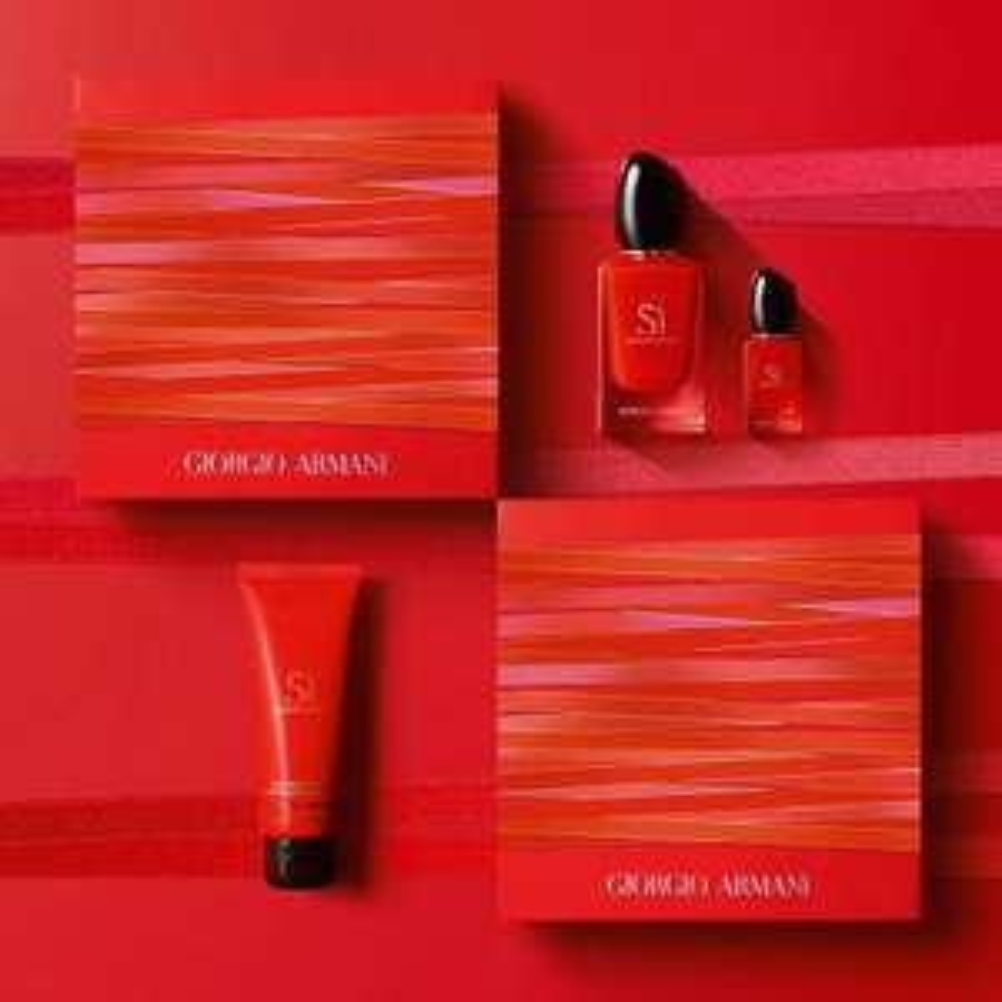 Armani Sì Passione geschenkset + douchegel, samples & gift