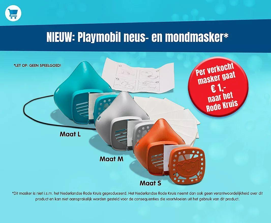 Playmobil mond en neusmasker