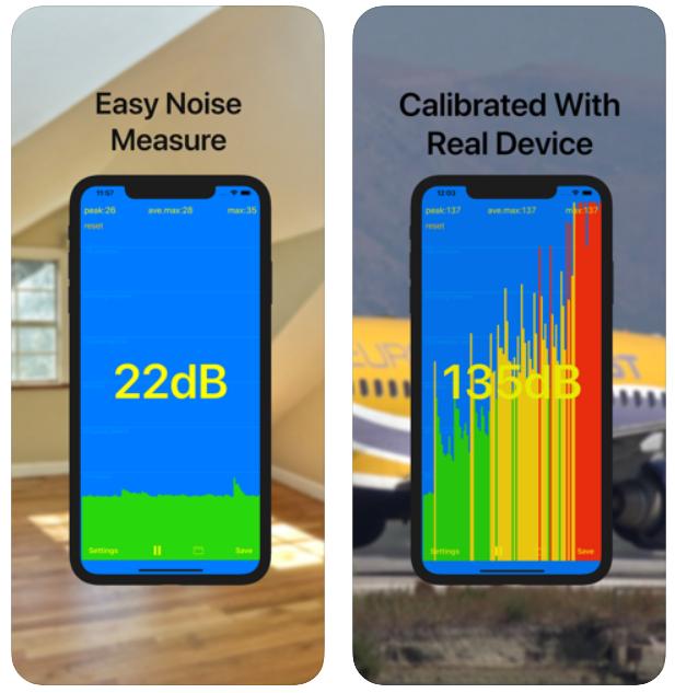 [iOS] dB meter nu GRATIS (app heeft geen in-app aankopen)
