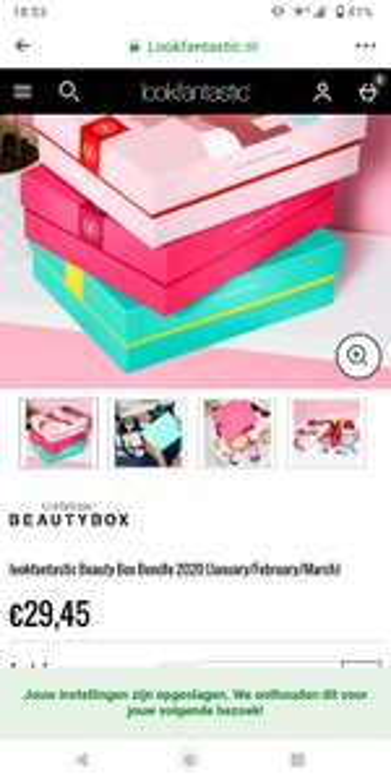 Lookfantastic beauty box 3x