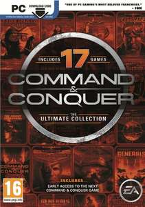 Command and Conquer The Ultimate Collection €12 @ Nedgame.nl