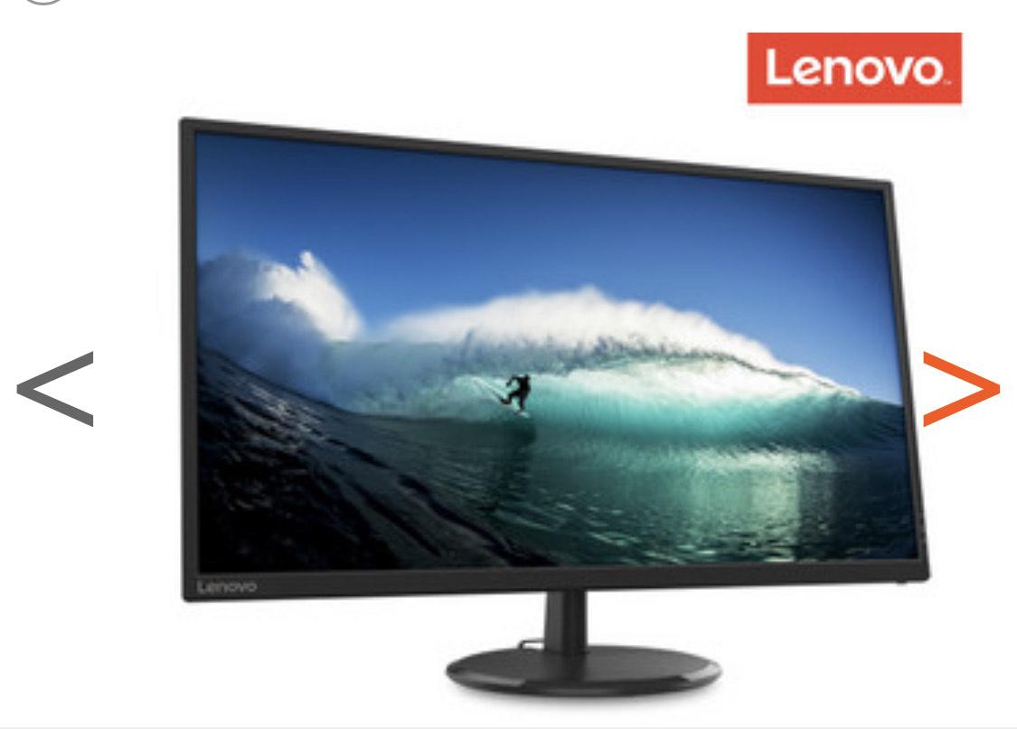 "Lenovo D32q-20 QHD LED LCD monitor 31,5"""