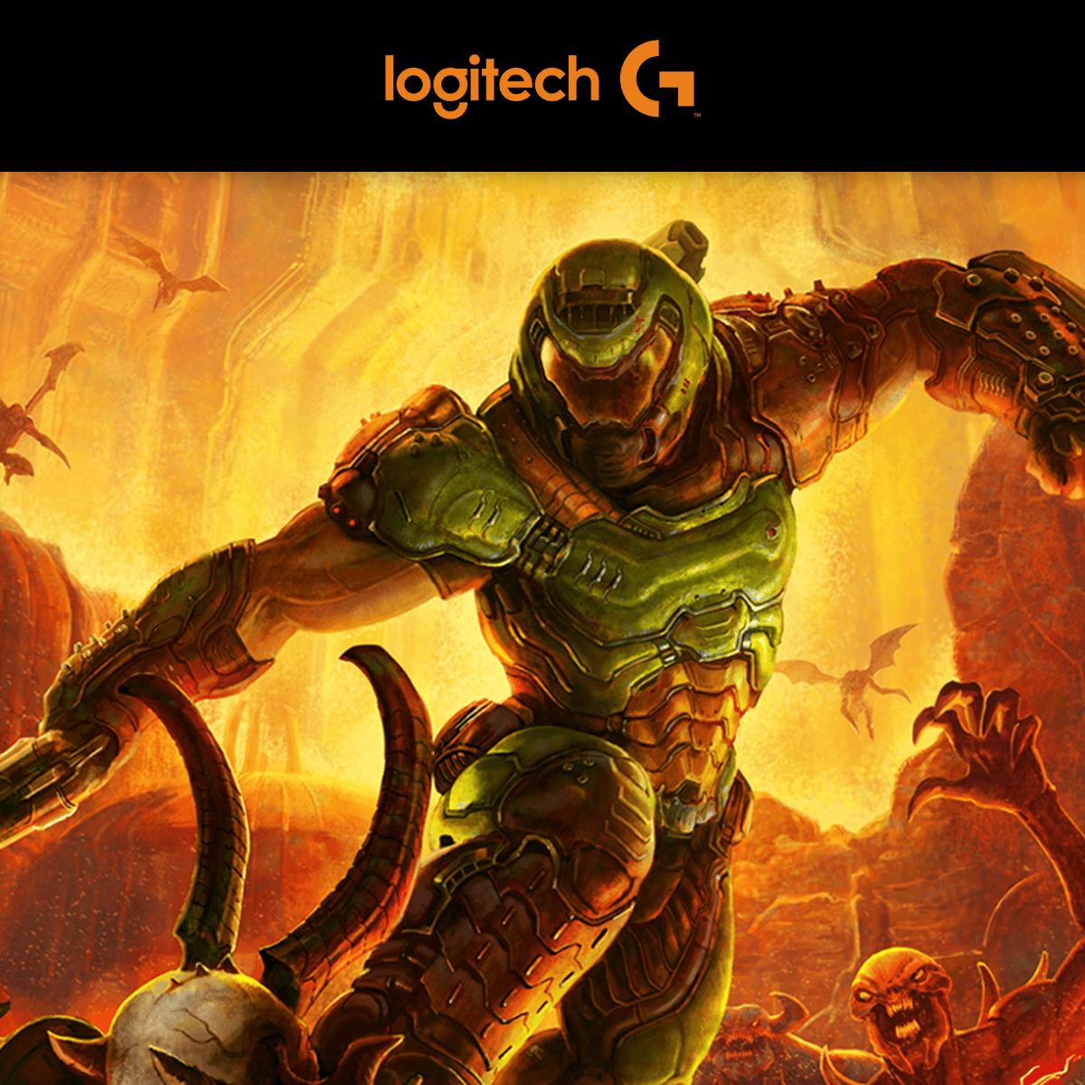 DOOM Eternal GRATIS bij aankoop Logitech G-product